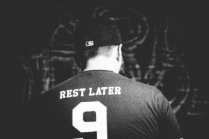 Rest later t-shirt